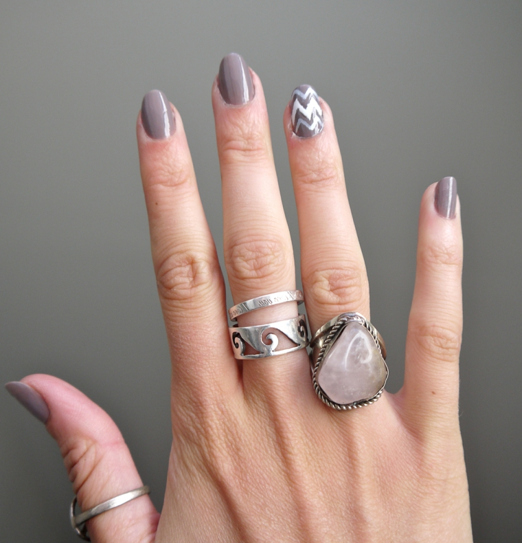 1001 idee per unghie decorate idee da copiare - Decorazioni bianche ...