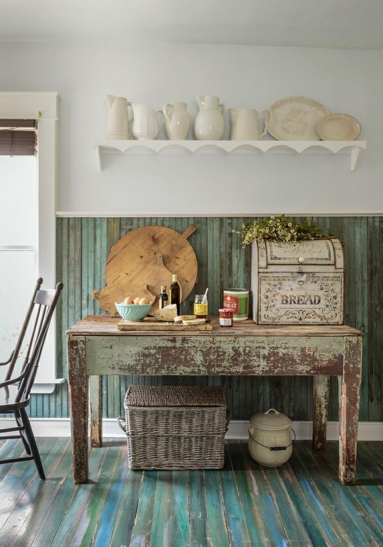 Shabby significato e come arredare con mobili in legno dall'effetto consumato