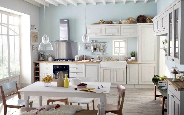1001 idee per stile shabby l 39 arredo e la decorazione for Accessori cucina arredamento