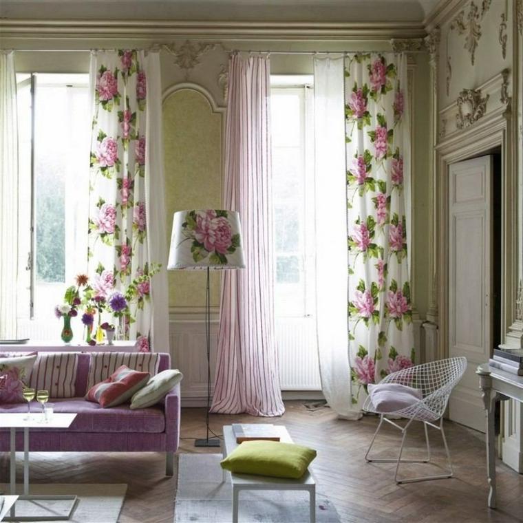 1001 idee per stile shabby l 39 arredo e la decorazione for Soggiorno shabby