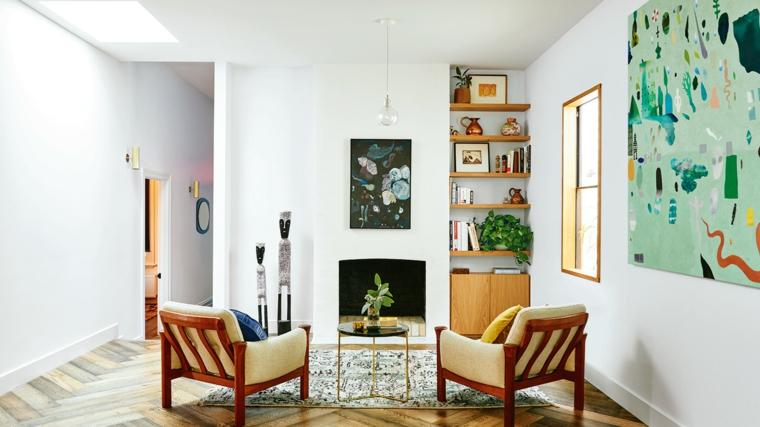 1001 idee per stile shabby l 39 arredo e la decorazione - Decorazioni floreali per pareti ...