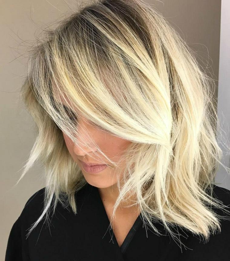 Taglio capelli lunghi e sottili