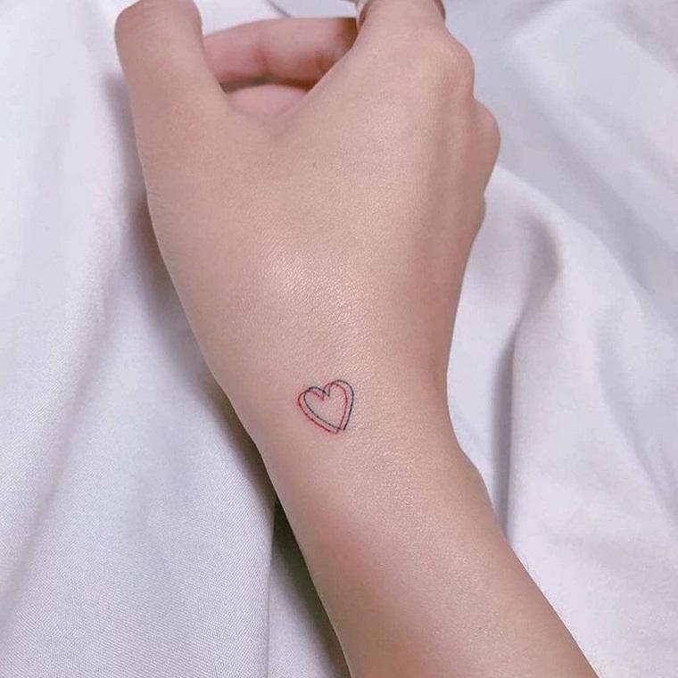 1001 Idee Per Tatuaggio Cuore In Tutte Le Possibili Opzioni