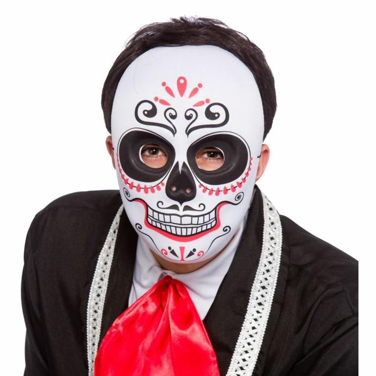 immagini teschi messicani, un'idea perfetta per un uomo da sfoggiare ad halloween