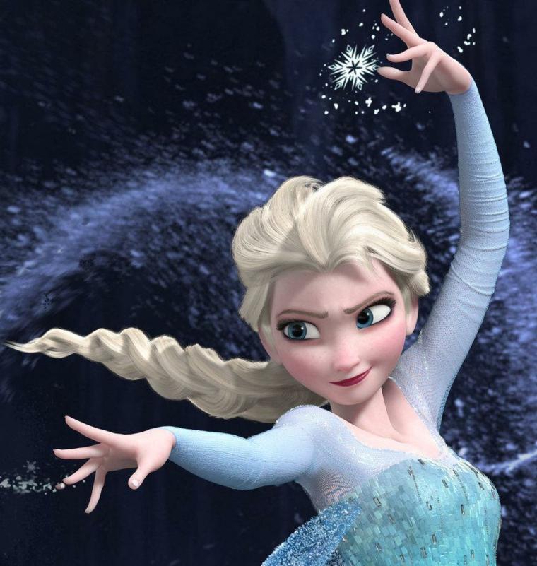 lisca di pesce treccia, elsa è la protagonista del cartone frozen e la sua treccia ha fatto tendenza