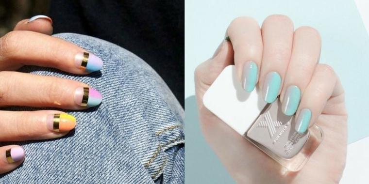 Come dipingere le unghie per l'estate con le tonalità pastello