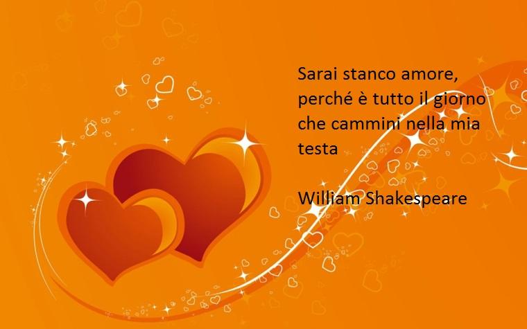 shakespeare ha scritto tantissime frasi belle, come questa dedicata all'amore