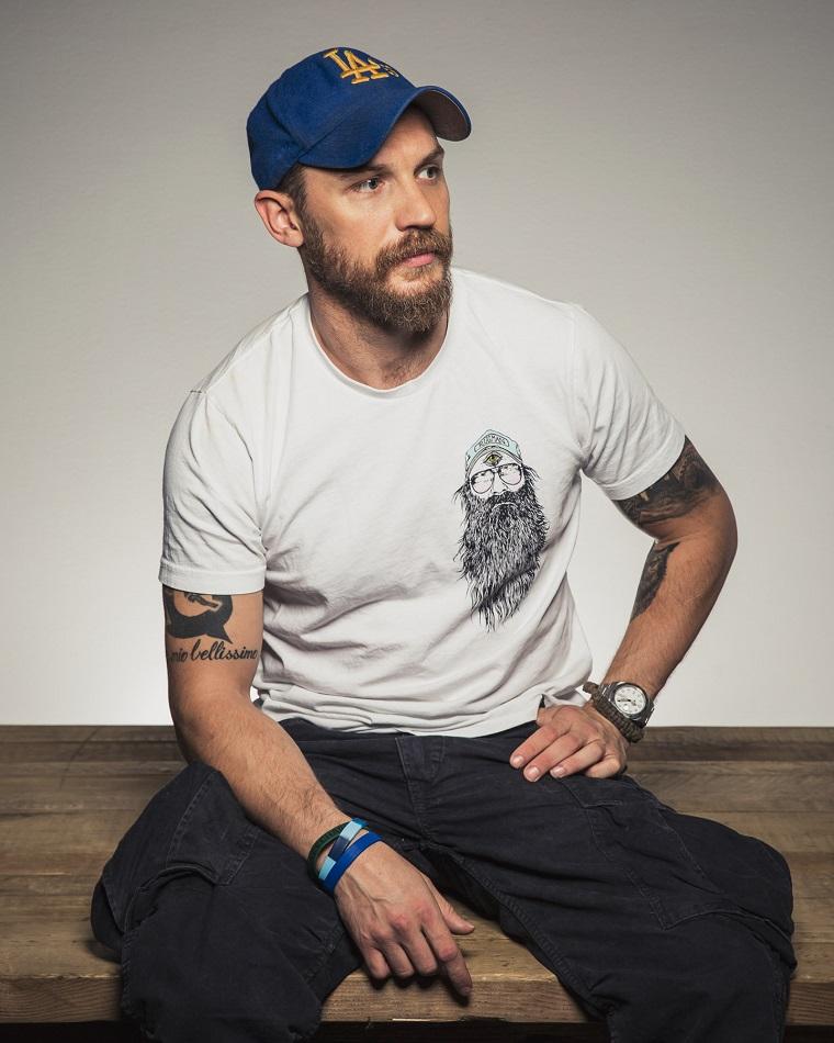Tatuaggi sul braccio, i ragazzi più belli del mondo, Tom Hardy attore inglese