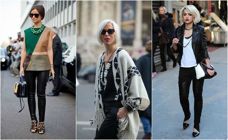 Come abbinare i colori, tre proposte di abbigliamento casual di donne famose