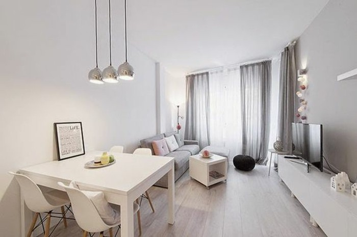 1001 idee per arredare salotto piccolo foto e proposte for Mobile basso da sala