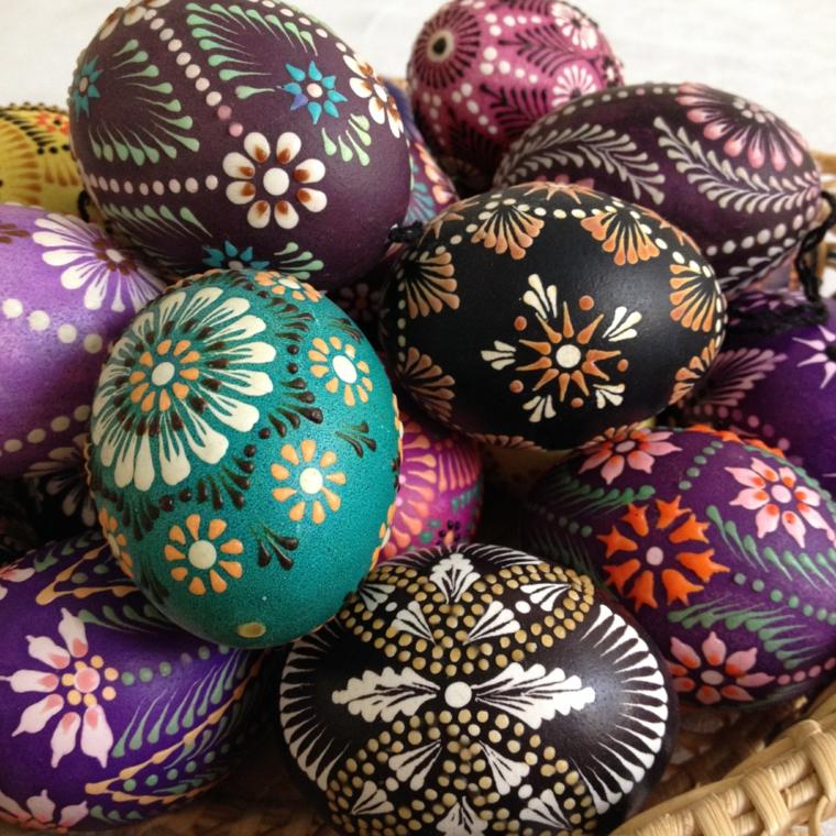 1001 idee per uova di pasqua decorate in diverse tecniche - Decorare uova di pasqua ...
