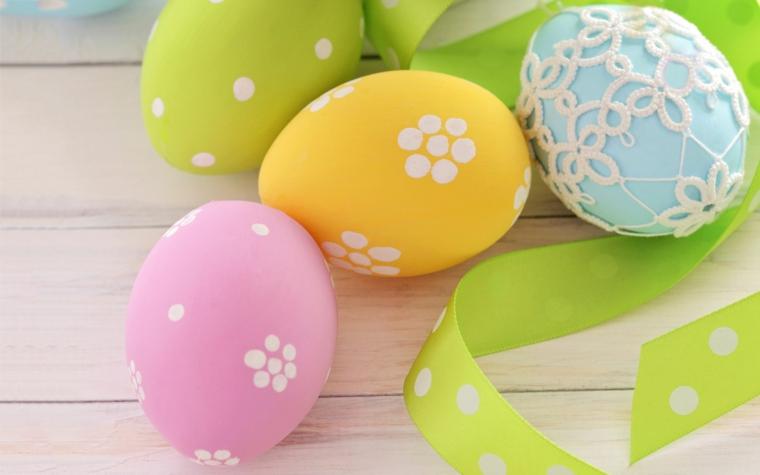 1001 idee per uova di pasqua decorate in diverse tecniche - Decorare le uova per pasqua ...
