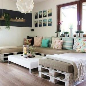 Pallet divano - come fabbricarlo, tutto in 60 super idee