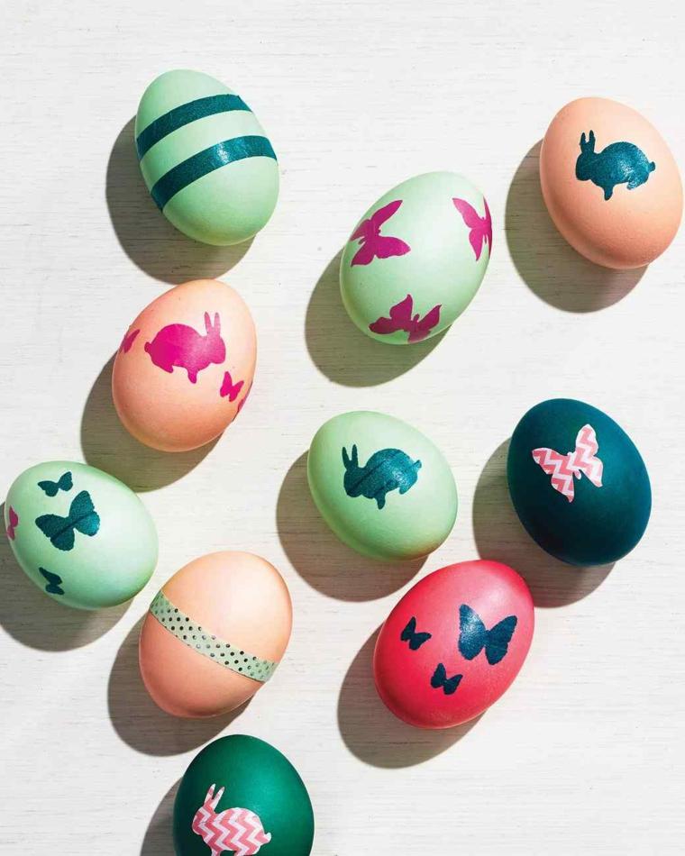1001 idee per uova di pasqua decorate in diverse tecniche - Fai da te pasqua decorazioni ...
