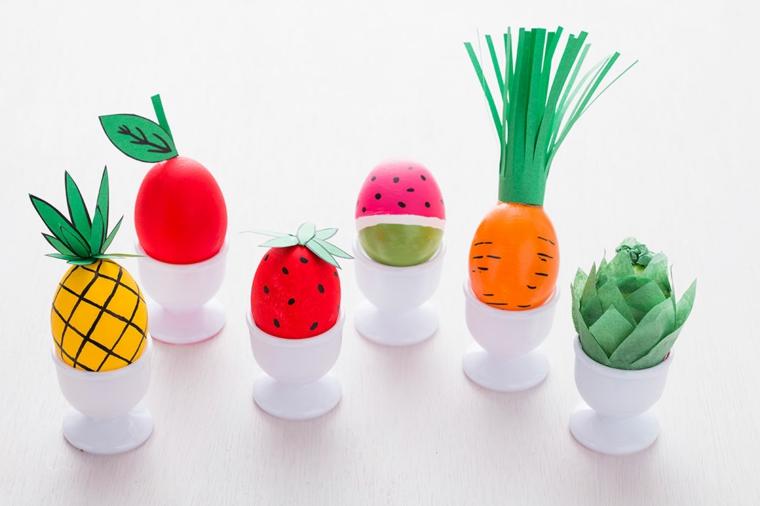 1001 idee per uova di pasqua decorate in diverse tecniche - Idee per decorare le uova di pasqua ...