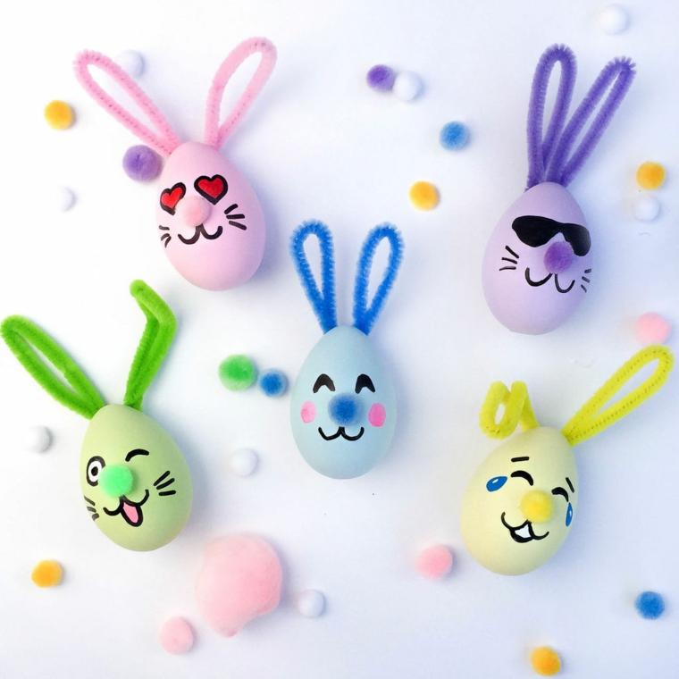 1001 Idee Per Uova Di Pasqua Decorate In Diverse Tecniche