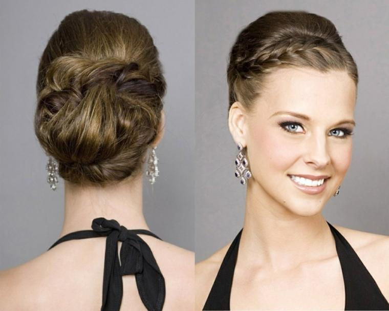 Hair Styles For Short Hair Wedding Guest: 1001 + Idee Per Capelli Raccolti Per Look Di Tendenza