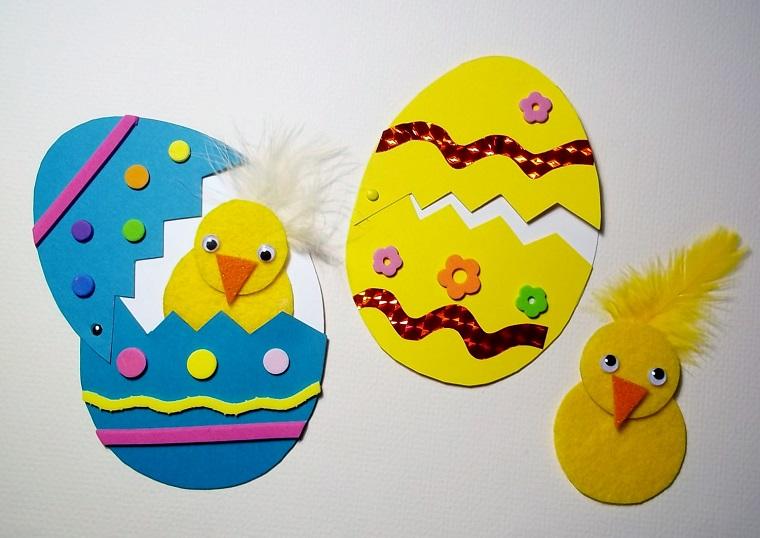 Idee Pasquali In Feltro : Idee di riciclo creativo per le vostre decorazioni pasquali
