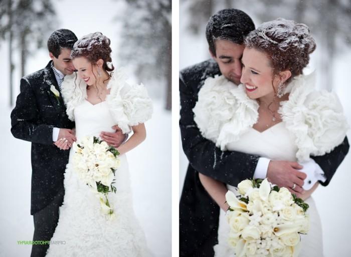 un'idea di vestito matrimonio uomo scuro e adatto alla stagione invernale
