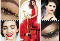 Makeup con rossetto rosso per le feste di fine anno 2017