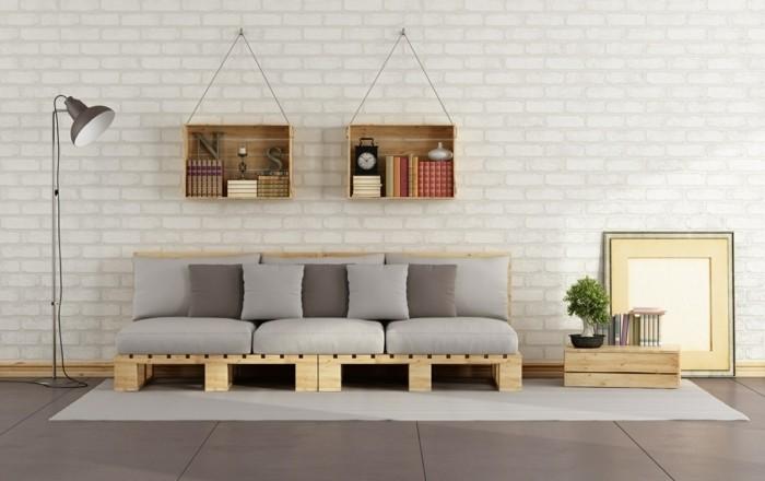 1001 idee per pallet divano 60 idee da copiare for Idee divani