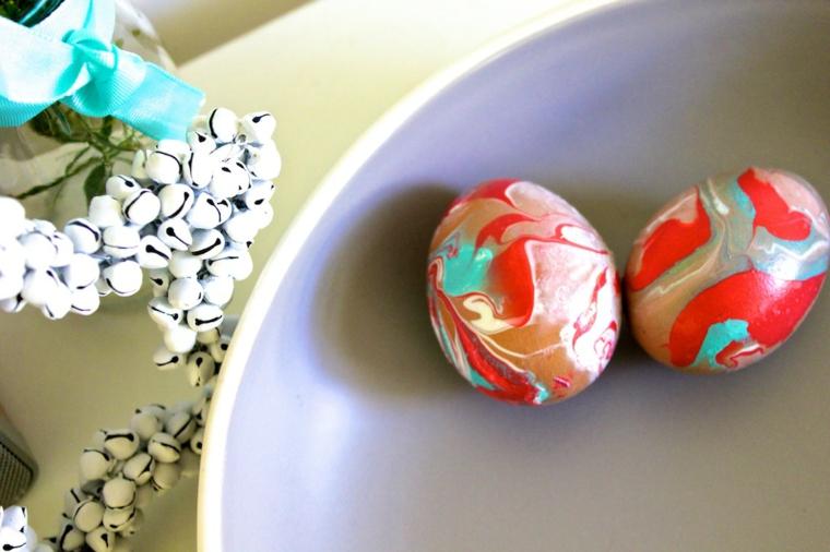 1001 idee per uova di pasqua decorate in diverse tecniche - Pasqua decorazioni fai da te ...