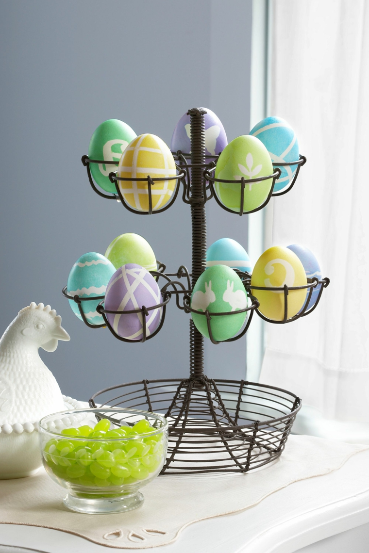 1001 idee per uova di pasqua decorate in diverse tecniche - Uova di pasqua decorati a mano ...