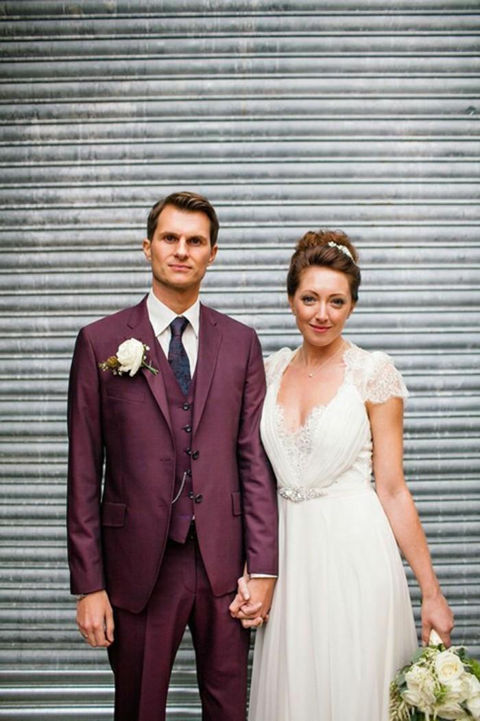 Vestito Matrimonio Uomo Viola : Idee per abiti da cerimonia uomo all insegna dell