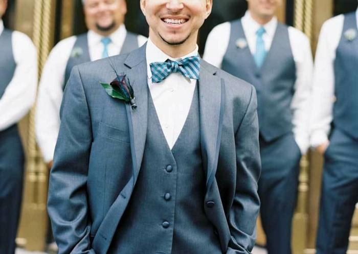 Vestito Matrimonio Uomo Verde : Idee per abiti da cerimonia uomo all insegna dell