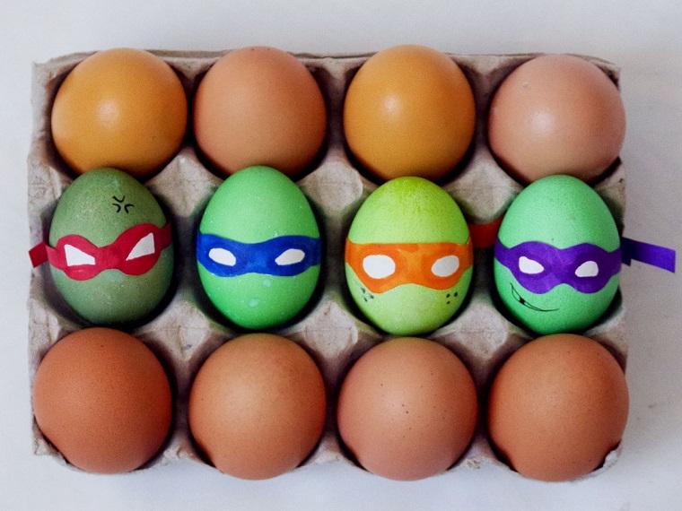 1001 idee per lavoretti di pasqua per bambini - Uova decorate per bambini ...