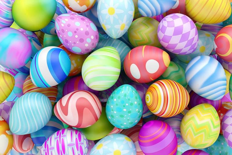 1001 idee per lavoretti di pasqua per bambini - Decorazioni uova pasquali per bambini ...