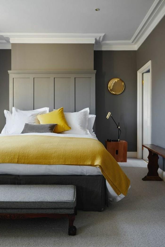 1001 idee per colori da abbinare al grigio consigli utili - Abbinamento colori camera da letto ...