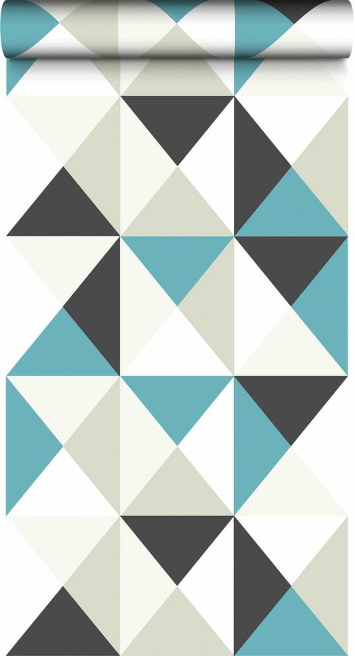 Come abbinare i colori, forme geometriche con i le tonalità, grigio e bianco, blu e nero
