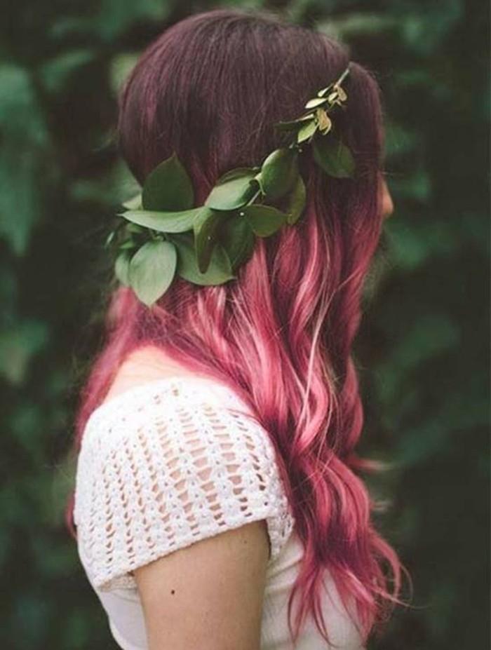 un'idea per realizzare una tinta giovanile e alla moda con delle sfumature rosa