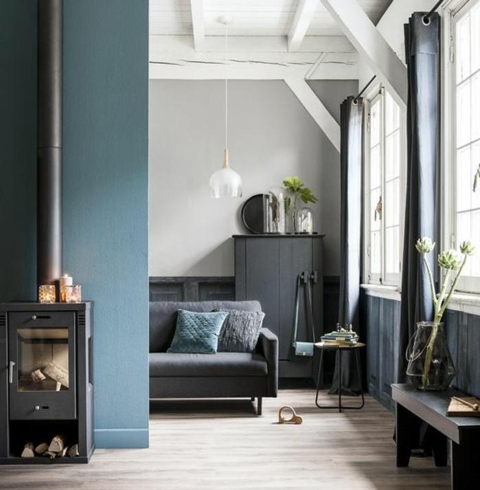 1001 idee per colori da abbinare al grigio consigli utili - Colori da parete ...