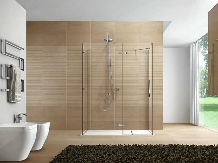 1001 idee per come arredare un bagno consigli - Piastrelle bagno legno ...