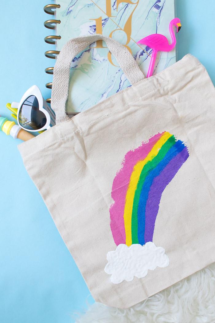 Borsa della spesa personalizzata con disegno, pensierini di Natale fai da te, accessori in borsa