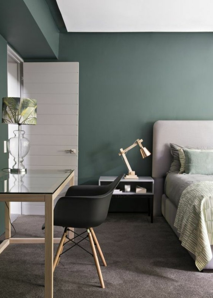1001 idee per colori da abbinare al grigio consigli utili - Camera da letto grigio ...