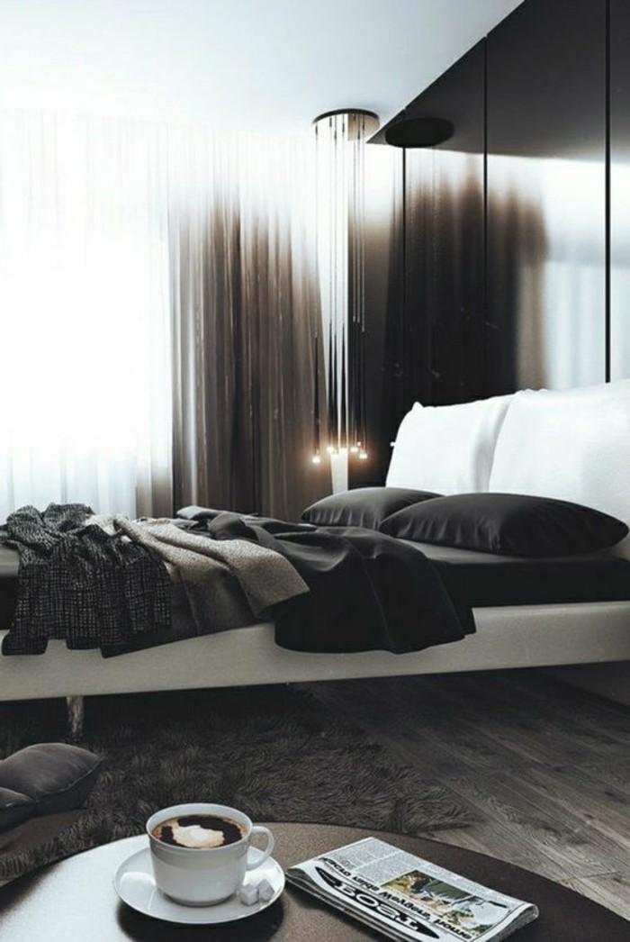 1001 idee per colori da abbinare al grigio consigli utili - Parete camera da letto tortora ...