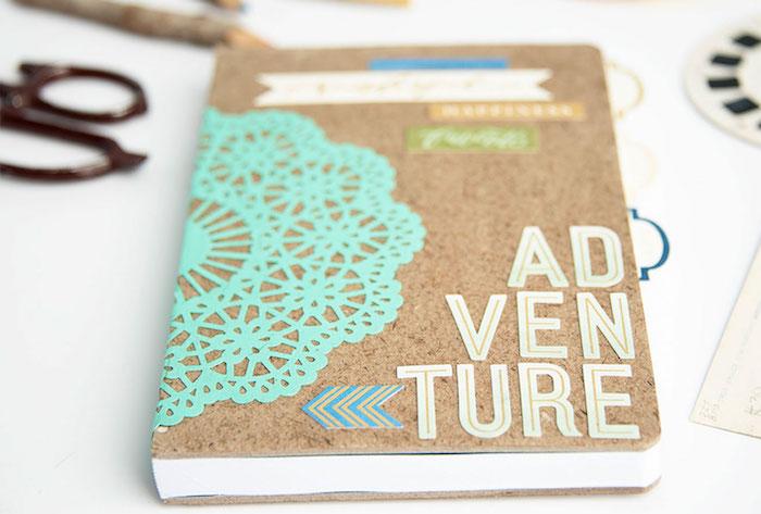 Diario di viaggio con scritta personalizzata, sorprese per lui fai da te, materiali per il lavoretto