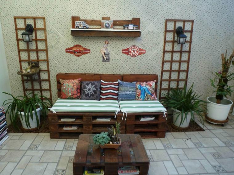 1001 idee per divani con bancali per interni ed esterni - Porte a basso costo ...