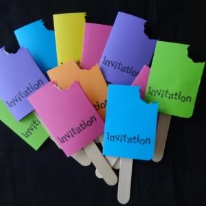 Inviti compleanno bambini - tantissime idee colorate e divertenti fai da te