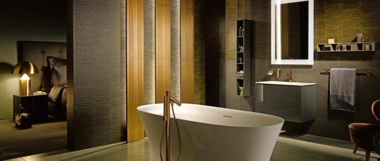 1001 idee per come arredare un bagno consigli. Black Bedroom Furniture Sets. Home Design Ideas