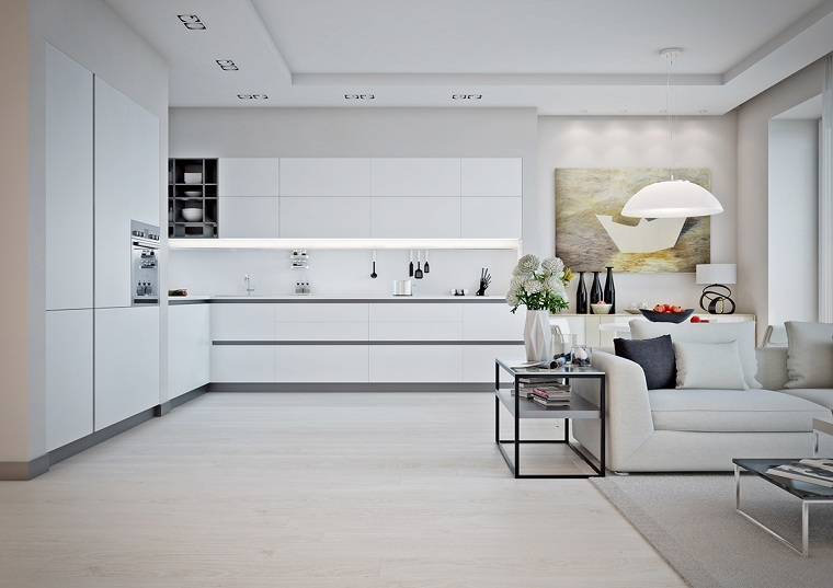 Open Space Cucine Case Moderne Interni.1001 Idee Per Case Moderne Interni Idee Di Design
