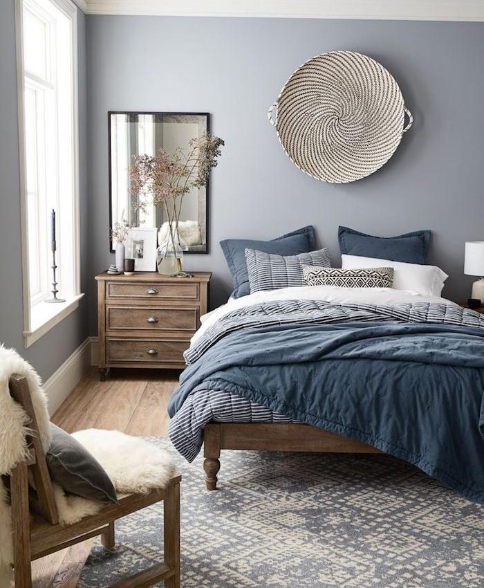 1001 idee per colori da abbinare al grigio consigli utili - Camera da letto tortora ...
