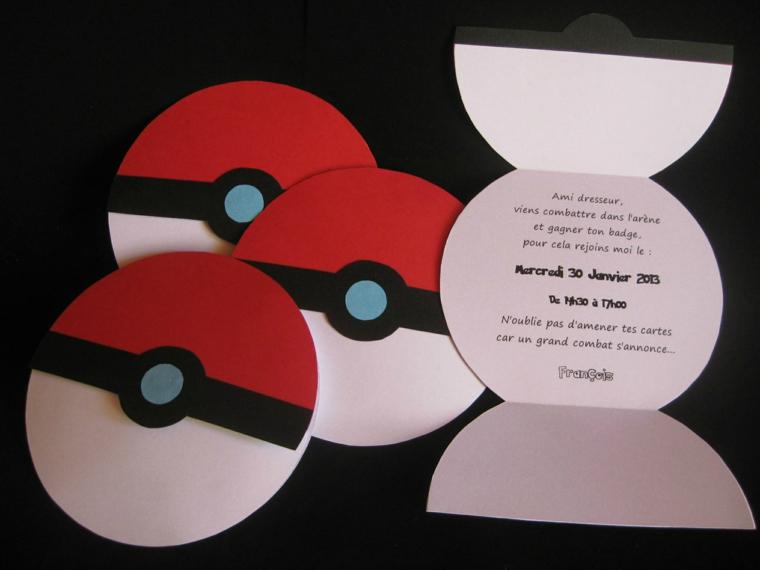 idea originale fai da te a forma di disco per degli inviti festa compleanno bambini