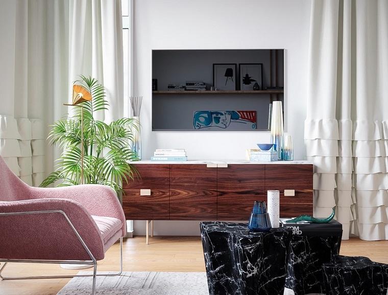 Soluzioni di arredo per soggiorni arredamento soggiorno for Soluzioni arredo soggiorno