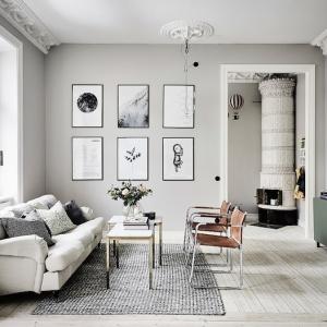 Quali sono i colori da abbinare al grigio...?! Più di 40 esempi!