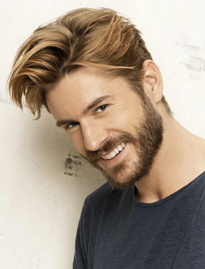 Taglio capelli per viso tondo uomo