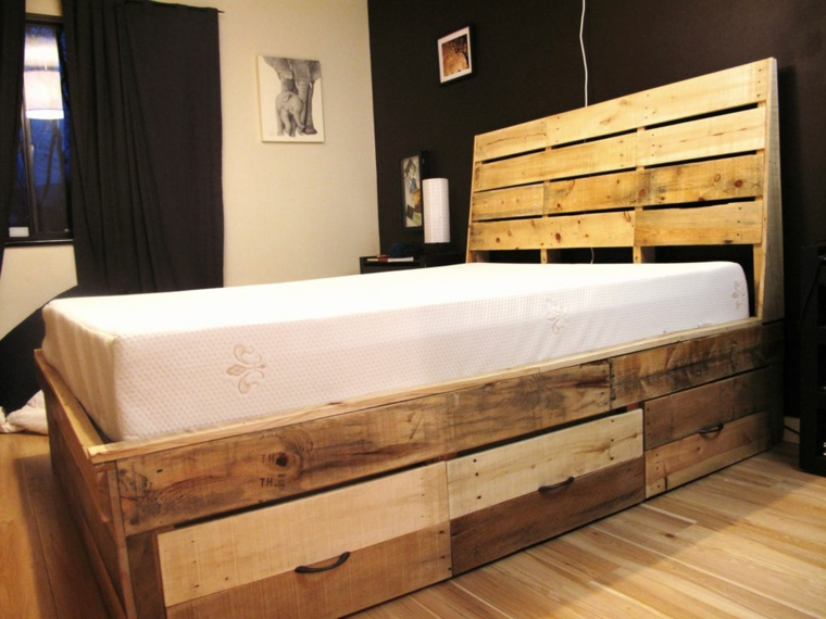 Diy Pallet Bed Frame Queen